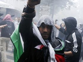 Paris Pro-Palestinian protest riot