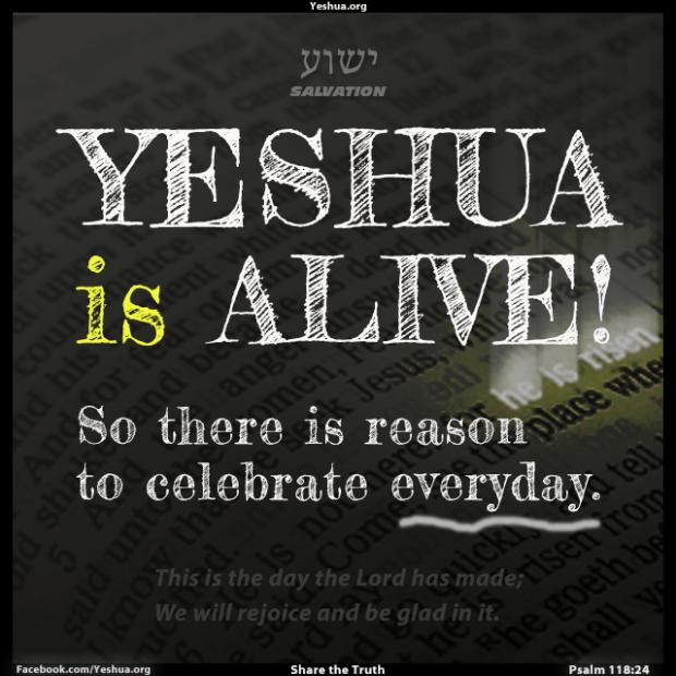 Yeshua is Alive!