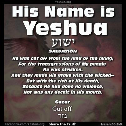 Isaiah 53:8-9