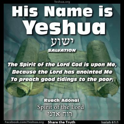 Isaiah 61:1 Ruach Adonai