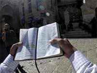 Pastor Zephaniah Mel street evangelism in Jerusalem