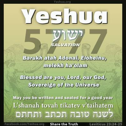 Rosh hashanah 5777 / 2016