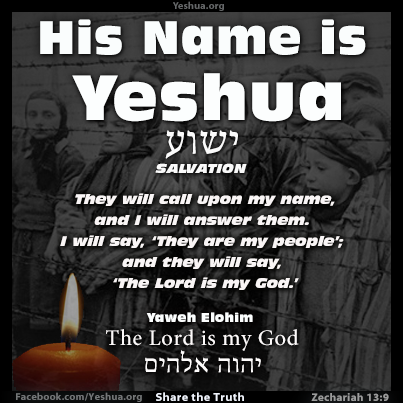 Yeshua : YHWH is My God
